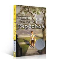 【全店300减100】英文原版 Paperboy 送报男孩 纽伯瑞银奖 Vince Vawter 少年小说 儿童文学 进