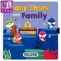 【中商原版】鲨鱼宝宝家庭故事Baby Shark And Family Box Set