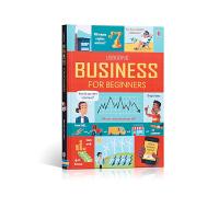 读懂商业 BUSINESS FOR BEGINNERS英文原版绘本 3-5岁扩展阅读