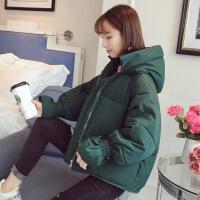 外套冬装衣服女短款小2018新款韩版学生ins面包服加厚