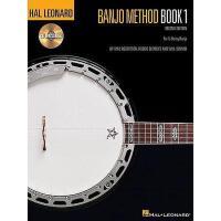 【预订】Banjo Method, Book 1 [With CD (Audio)]