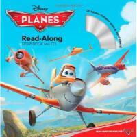 现货 英文原版儿童书 Planes Read-Along Storybook and CD 飞机总动员(书 CD) 有声