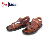 【2件3折到手价:29.7元】红蜻蜓童鞋男童凉鞋男宝宝中大童沙滩鞋韩版潮儿童凉鞋