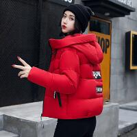 新款潮韩版冬小棉袄a字百搭羽绒女短款外套学生轻薄棉衣