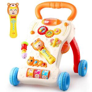 婴儿学步车玩具 音乐手推车宝宝助步车儿童多功能学走路礼物1-3岁