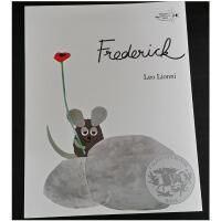 【全店300减100】凯迪克获奖绘本Frederick 田鼠阿佛Leo Lionni 超级名家儿童绘本