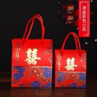 结婚庆用品喜糖盒子喜糖袋批�l婚礼糖盒糖果礼盒手提袋包装喜糖盒