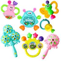 婴儿玩具3-6-12个月新生儿摇铃0-1岁宝宝早教幼儿手摇铃牙胶
