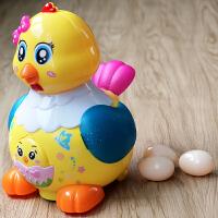 宝宝电动玩具会下蛋的小母鸡儿童生蛋玩具恐龙走路益智玩具1-2岁