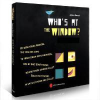 英文原版 who's at the window 激发想象力 克服恐惧心理 谁在窗户后 儿童2-3-4-5-6-8周岁