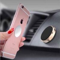 迷你磁性贴片金属车载手机汽车用多功能磁铁吸手机导航支架