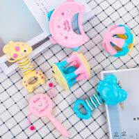 婴儿玩具3-6-12个月摇铃0-1岁宝宝手摇铃牙胶