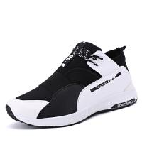 春夏季潮鞋运动鞋男士跑步旅游男鞋青年耐磨休闲韩版透气学生板鞋