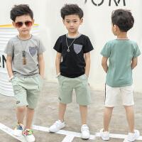 男童T恤 夏季儿童外出短袖体恤童装新款夏装半袖