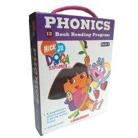 Dora The Explorer Phonics Fun Pack #2 with CD 朵拉探险记自然拼读法套装2(附CD) ISBN9780545722216