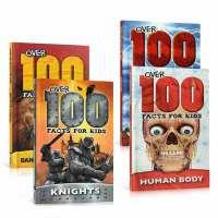 Over 100 Facts for Kids 5本套装 英文原版科普百科读物 青少年认知书 精装 Dangerous Animals Dinosaurs Knights Space