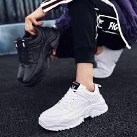 鞋子男鞋冬季潮鞋韩版潮流小白鞋老爹鞋运动防水跑步鞋