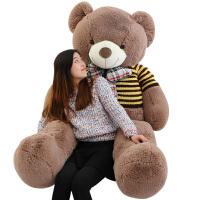 熊毛绒玩具熊大号公仔 可爱抱抱熊布娃娃生日礼物送女生