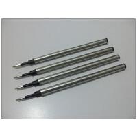 10支宝珠笔芯博驰签字笔芯金属水笔芯长度11厘米铁笔芯0.5