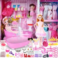 换装浴室晴雪芭比洋娃娃套装大礼盒仿真女孩儿童公主玩具梦想豪宅