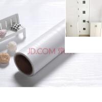 防水墙纸自粘壁纸卧室装饰衣柜子门书桌面仿旧家具翻新贴纸 大