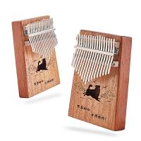 拇指琴17音初学者便携式手指钢琴不用学就会的乐器抖音琴