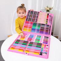 儿童画笔水彩笔蜡笔创意小女孩生日礼品礼物儿童小学生绘画工具美术画画女童幼儿园画笔套装礼盒3-6-12岁文具