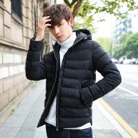 棉衣男冬季2018新款连帽羽绒韩版潮流袄子冬装加厚棉袄男外套