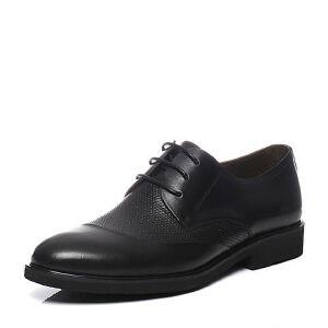 Teenmix/天美意2017夏季专柜同款牛皮商务英伦风德比鞋男正装鞋男鞋3CR02BM7