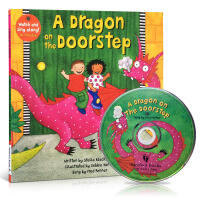 英文原版A Dragon on the Doorstep +CD Stella Blackstone廖彩杏