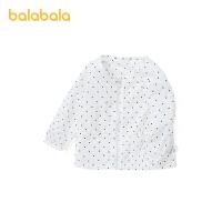 【3件5折价:55】巴拉巴拉宝宝针织上衣婴儿外套男童衣服洋气童装清新波点夏