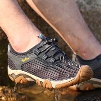夏季溯溪鞋男鞋两栖速干涉水鞋网布透气钓鱼鞋防滑徒步朔溪鞋