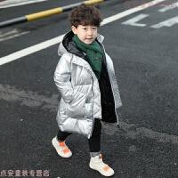 童装男童冬装2019新款儿童冬季中长款棉袄加厚宝宝棉衣韩版酷