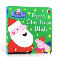 【全店300减100】英文原版 Christmas圣诞绘本 Peppa Pig: Peppa's Christmas W