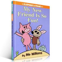 【精装版】英文原版 An Elephant and Piggie book My New Friend Is So F