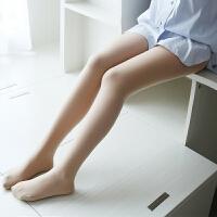 秋光腿神器连裤袜T裆比基尼加绒加厚假透肉打底裤袜肉色连脚 薄绒 自然肤 均码