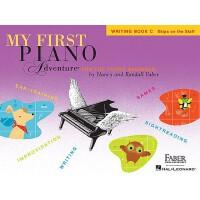 【预售】英文原版 菲伯尔我的钢琴之旅:创作训练C My First Piano Adventure, Writing B
