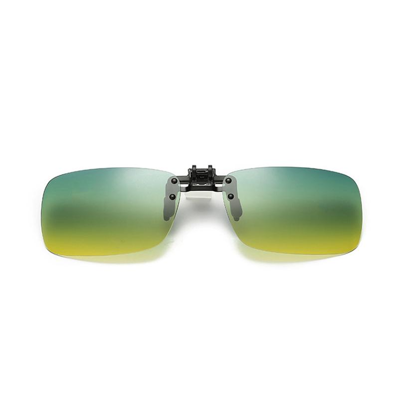 偏光墨镜夹片式日夜两用太阳眼镜防远光灯开车驾驶男女夜视镜近视