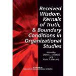 【预订】Received Wisdom, Kernels of Truth, and Boundary