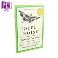 【中商原版】纽伯瑞:快乐的喧嚣 Joyful Noise 昆虫乐趣 经典儿童文学 故事书 亲子童书 纽伯瑞奖项 9~12