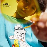 【2件3折到手价:49.5元】小虎宝儿儿童短袖t恤2020夏装新款男童纯棉上衣中大童半袖体恤潮