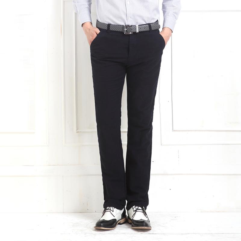 1号牛仔 男士休闲裤春季韩版青年小脚商务裤男休闲裤