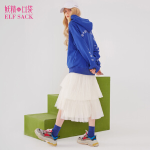 【低至1折起】妖精的口袋春秋装新款套头宽松百搭ins超火的卫衣女