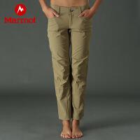 Marmot/土拨鼠女士舒适透气休闲长裤