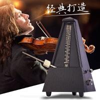 吉他小提琴贝斯通用伴奏机械打拍器节拍器钢琴架子鼓