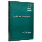 【中商原版】洛克论宽容(剑桥政治思想史经典文本丛书) 英文原版 Locke on Toleration