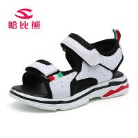 哈比熊童鞋夏季新款女童凉鞋儿童凉鞋男儿童沙滩鞋男童儿童女凉鞋