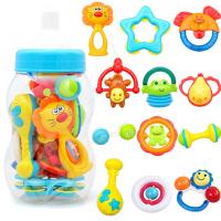 摇铃套装3-6-12个月婴儿玩具手抓手摇铃宝宝益智0-1岁新生儿