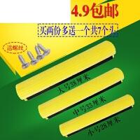 通用滚轮胶棉拖把头海绵替换装吸水海棉头 33厘米2只装 无水印100% 黄色(10倍吸水)