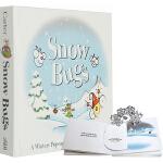 英文原版 Snow Bugs 书里藏着好多虫 下雪天,找虫虫 圣诞节 精装立体书 神奇动态立体认知书 翻翻书 想象力开